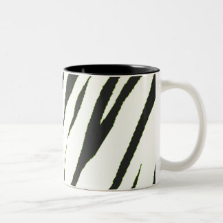 White Tiger Two-Tone Coffee Mug
