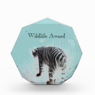 White Tiger wild animal Award