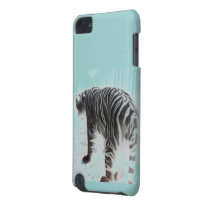 White Tiger wild animal iPod Touch (5th Generation) Case