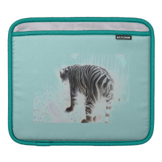 White Tiger Wild Animal Sleeve For iPads