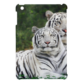White Tigers Cover For The iPad Mini