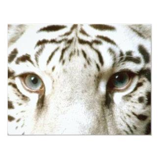 WHITE TIGER'S EYES INVITATION ~ EZ TO CUSTOMIZE!