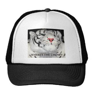 WHITE TIGERS TRUCKER HAT