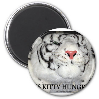WHITE TIGERS MAGNET