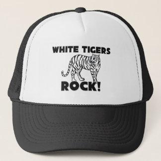 White Tigers Rock Trucker Hat