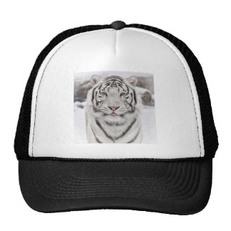 white-tigers-with-blue-eyes-snow-photo-mood-atmosp trucker hat