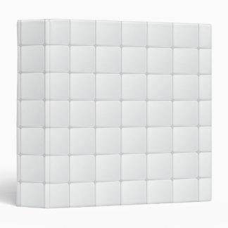 White tile binder