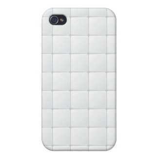 White tile cover for iPhone 4