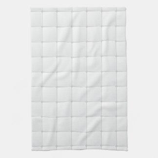 White tile towel