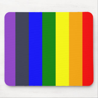 White To Black Rainbow of Color Spaces Mouse Pad