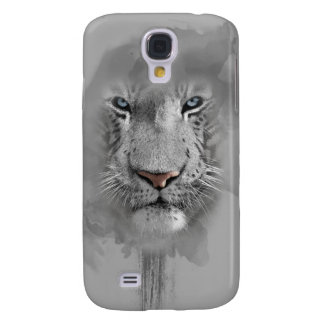 White to tiger phase samsung galaxy s4 case