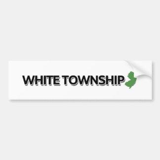 White Township, New Jersey Bumper Sticker