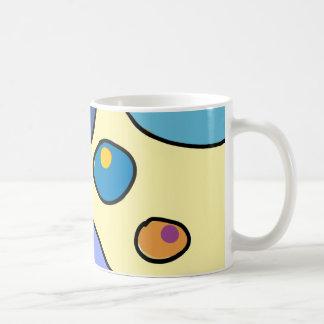 "White traditional Mug, design ""Bubble Gum Art "" Coffee Mug"