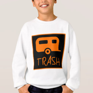 White Trailer Park Trash Poor Dumb Redneck Sweatshirt