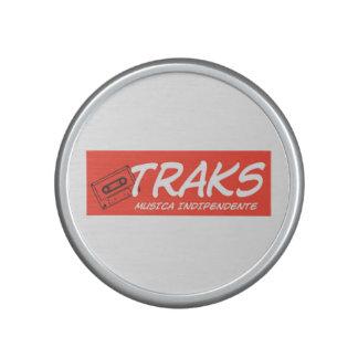 White TRAKS Bumpster Speaker