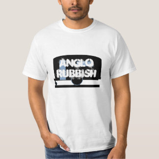 White Trash Anglo Rubbish Camp Travel Trailer T-Shirt