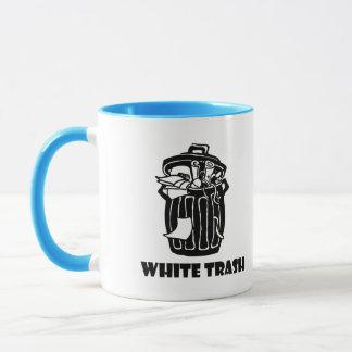White Trash Garbage Can Mug
