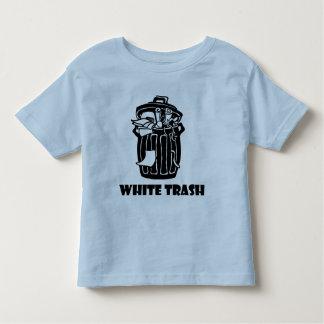White Trash Garbage Can T Shirt