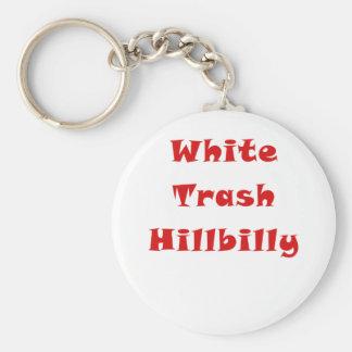 White Trash Hillbilly Keychain