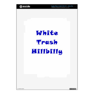 White Trash Hillbilly Skin For iPad 3