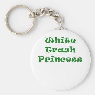 White Trash Princess Keychains
