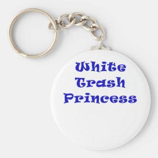 White Trash Princess Key Chain