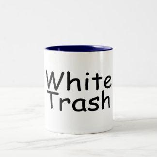 White Trash Two-Tone Coffee Mug