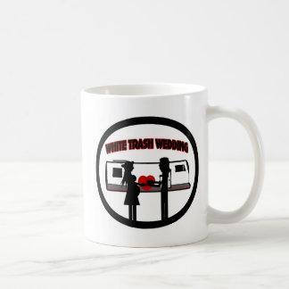 White Trash Wedding Coffee Mug