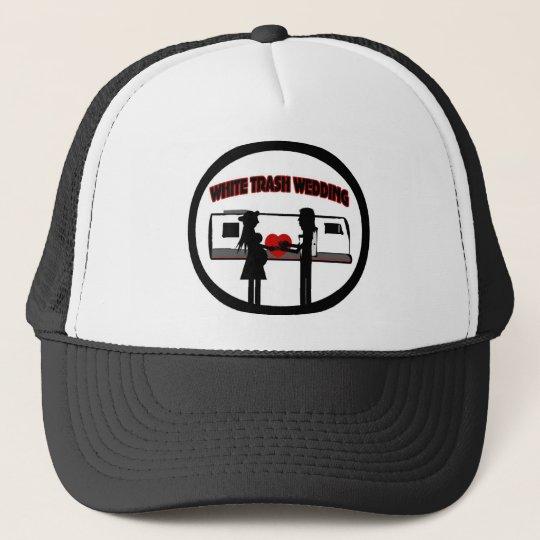 White Trash Wedding Trucker Hat