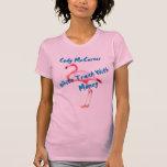 White Trash with Money Flamingo Shirts