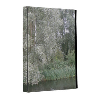 White Tree and River Landscape iPad Case
