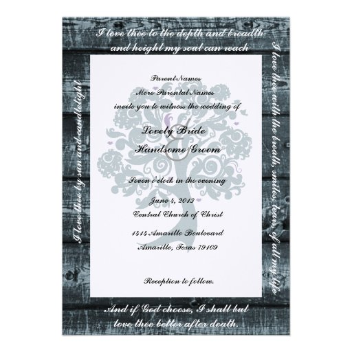 Poetry For Wedding Invitations