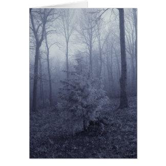 White Tree Card