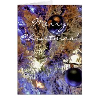 White Tree [Christmas Card] Greeting Card
