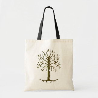 White Tree of Gondor Canvas Bags