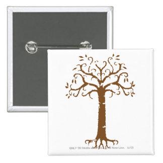 White Tree of Gondor Pinback Button