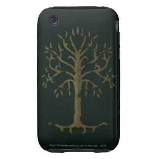 White Tree of Gondor Tough iPhone 3 Cover