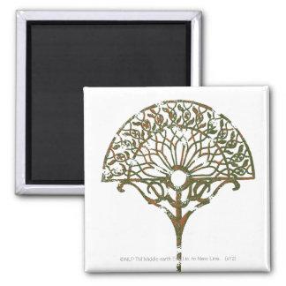 White Tree of Númenor 2 Inch Square Magnet