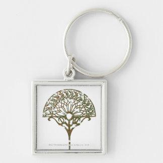 White Tree of Númenor Keychain