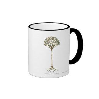 White Tree of Númenor Ringer Coffee Mug
