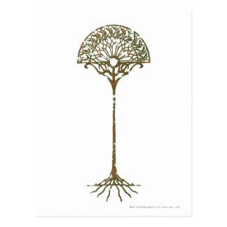 White Tree of Númenor Postcard