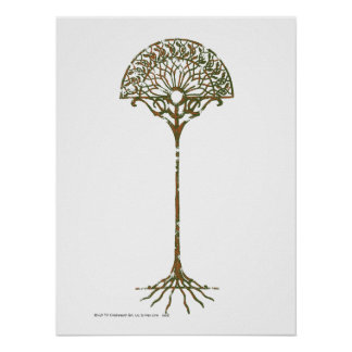 White Tree of Númenor Poster