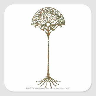 White Tree of Númenor Square Sticker