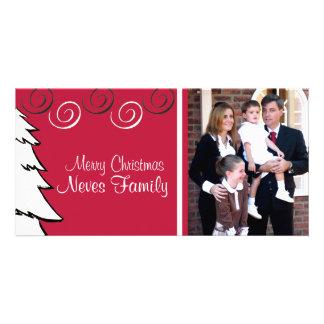 White Tree Photo Card