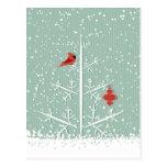 White Tree Postcard