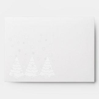White Trees Envelopes