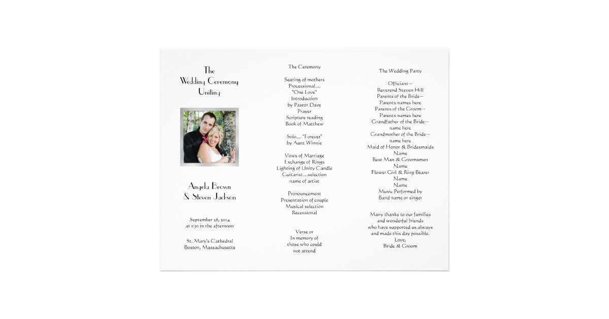 designs tri fold wedding invitations with pocket template as