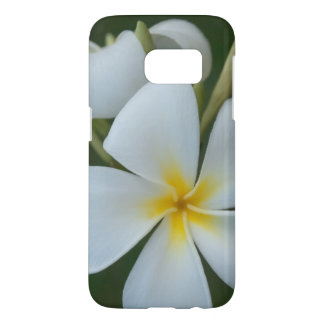 White Tropical Flower From Fiji Samsung Galaxy S7 Case