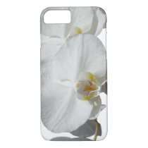 White Tropical Orchids iPhone 8/7 Case