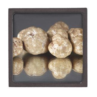 White truffles Tuber oligospermum Jewelry Box
